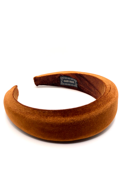ELEANOR CARAMEL HEADBAND
