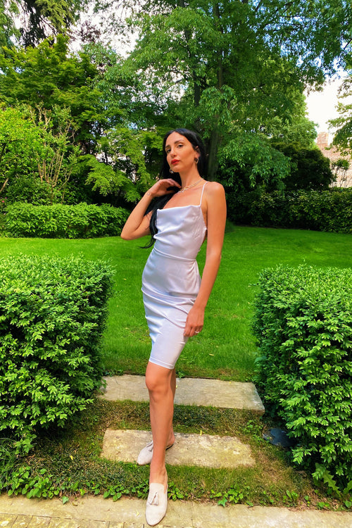 POLINA ICE WHITE DRESS