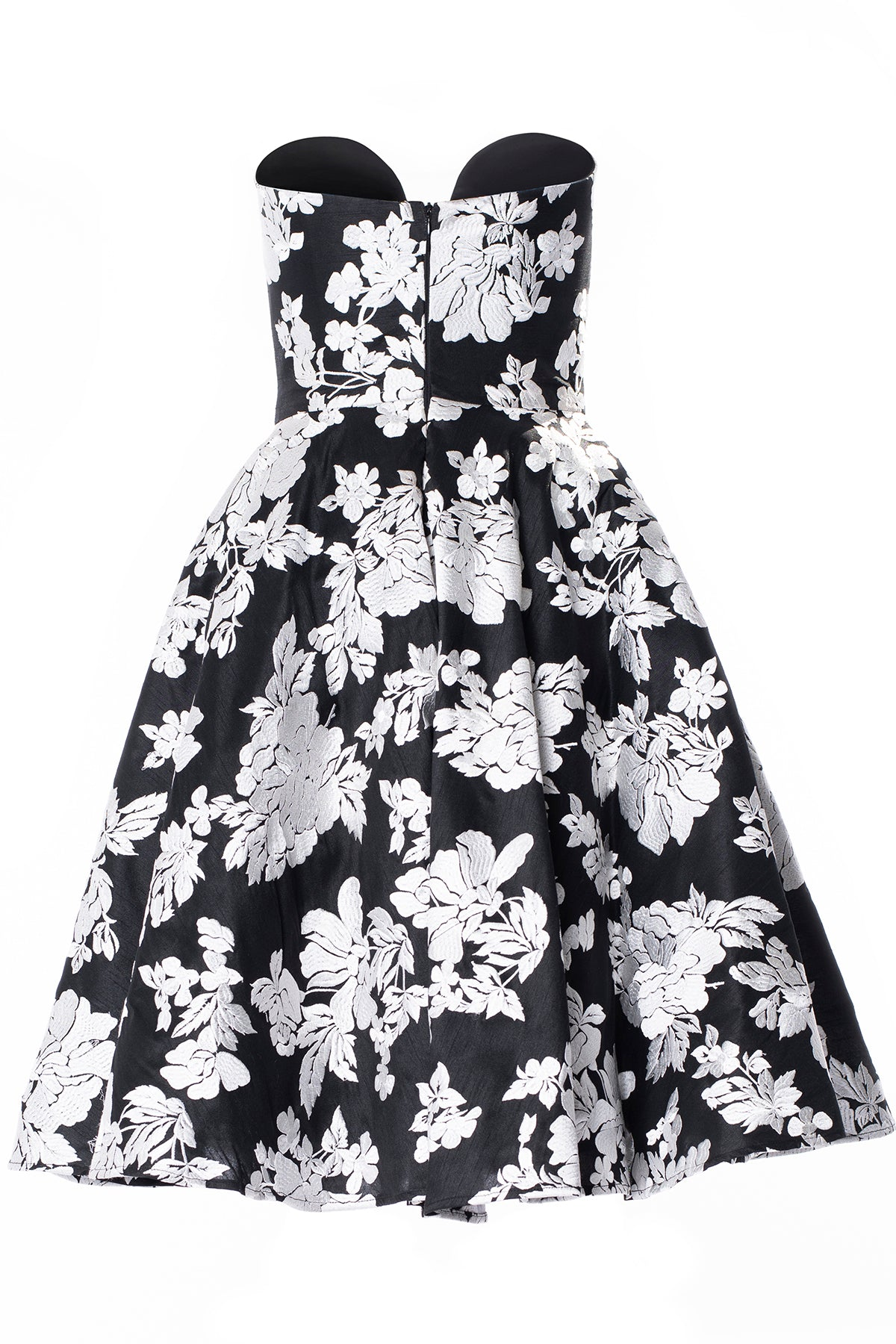 Strapless Dress with Full Circle