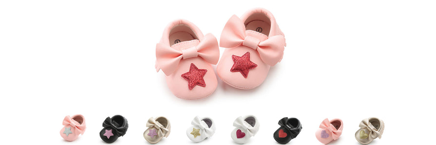 Newborn First Stepper Shoes for Girls