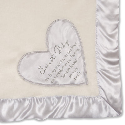 Sweet Baby Royal Plush Baby Blanket