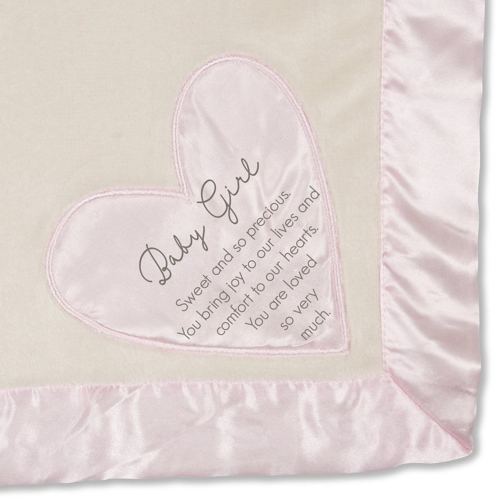 Baby Girl Royal Plush Blanket