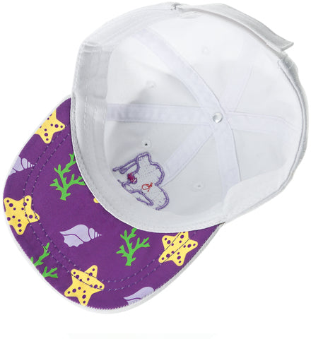 Mermaid Baby Adjustable Toddler Baseball Hat