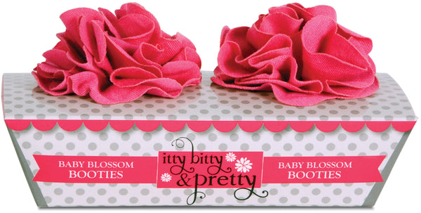 Prima Ballerina Barefoot Baby Booties Baby Bootie Itty Bitty & Pretty - GigglesGear.com