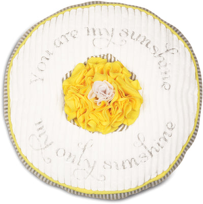 You are my Sunshine Round Baby Pillow