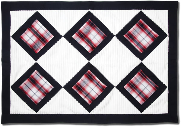 Fire Truck Chenille Baby Blanket Baby Blanket Itty Bitty & Handsome - GigglesGear.com