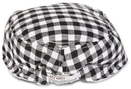 Gingham Style Baby Hat Hat Itty Bitty & Handsome - GigglesGear.com