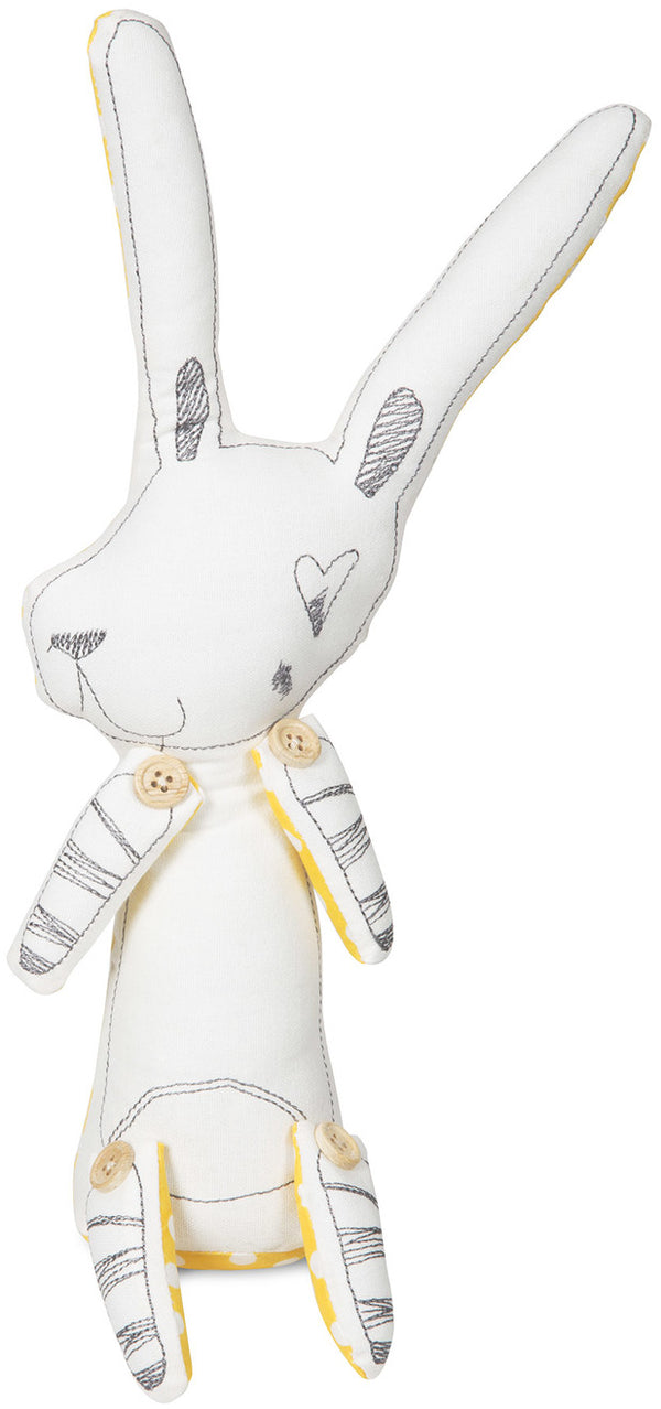 Baxter the Bunny Stuffed Animal Stuffed Animal Stitched & Stuffed - GigglesGear.com