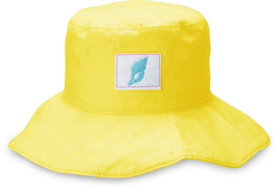 Yellow Seashell Beach Baby Hat Baby Hat We Baby - GigglesGear.com