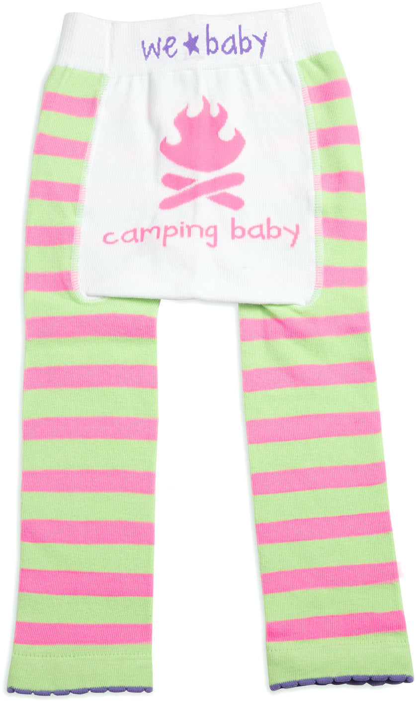 Camping Baby - Baby Girls Leggings, We Baby (Coming Soon) - GigglesGear.com
