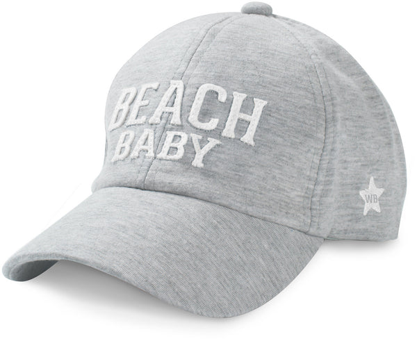 Beach Baby Adjustable Toddler Baseball Hat (1-3 Years) Baby Hat We Baby - GigglesGear.com