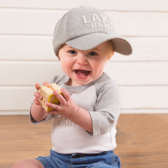 Beach Baby Adjustable Toddler Baseball Hat (1-3 Years) Baseball Hat We Baby - GigglesGear.com