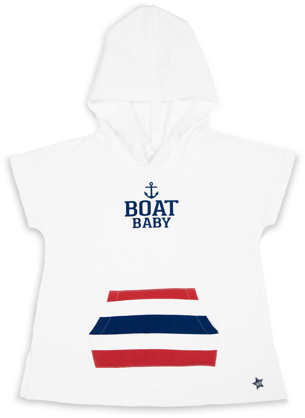 Boat Baby Hooded French Terry Sweatshirt Baby Sweatshirt We Baby - GigglesGear.com