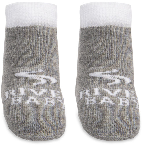 River Baby Livin' the river life Baby Socks Baby Socks We Baby - GigglesGear.com
