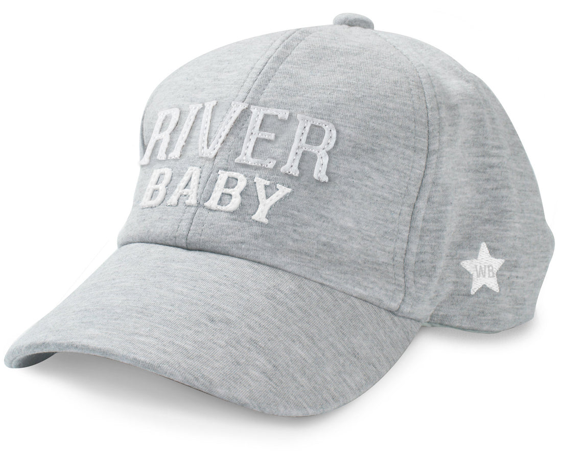 River Baby Adjustable Toddler Baseball Hat (1-3 Years)