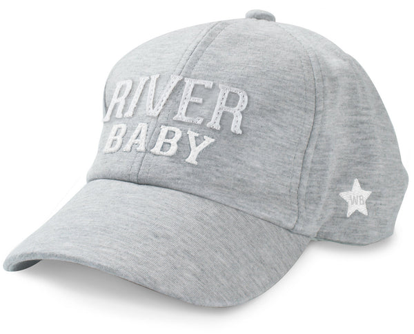 River Baby Adjustable Toddler Baseball Hat (1-3 Years) Baseball Hat We Baby - GigglesGear.com