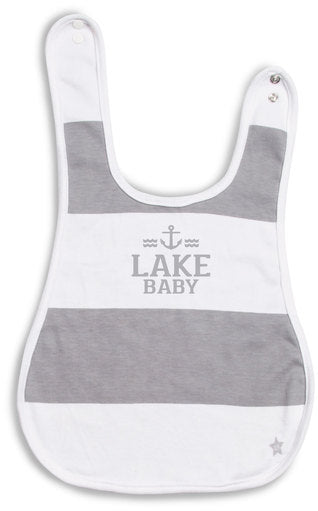 Lake Baby Reversible Bib (6M - 3 Years) Baby Bib We Baby - GigglesGear.com