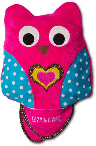 Pink Owl Baby Blanket and Pillow Baby Blanket Izzy & Owie - GigglesGear.com
