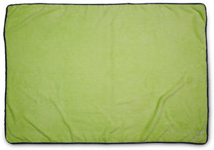 Green and Navy Owl Blanket Blanket Izzy & Owie - GigglesGear.com
