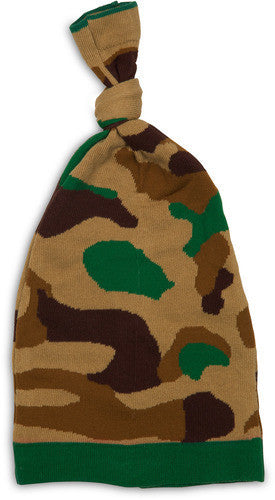 Brown & Green Camouflage Hat Baby Hat Izzy & Owie - GigglesGear.com