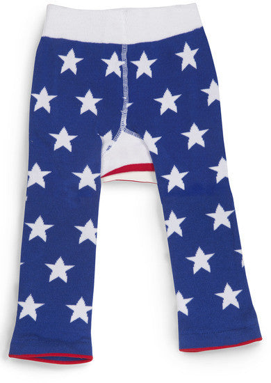 Stars & Stripes Patriotic Red White and Blue Baby Leggings Baby Leggings Izzy & Owie - GigglesGear.com