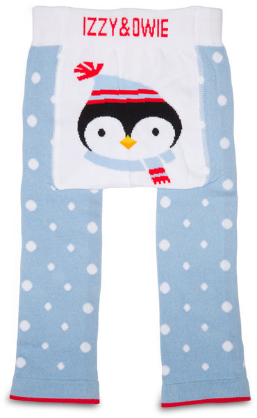 Winter Penguin Leggings Baby Leggings Izzy & Owie - GigglesGear.com