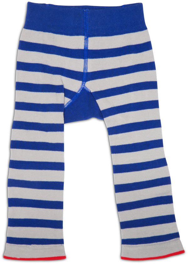 Red and Blue Train Baby Leggings Baby Leggings Izzy & Owie - GigglesGear.com