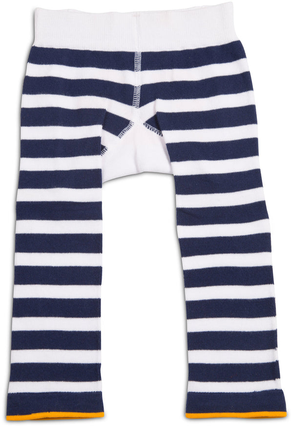Nautical Crab Baby Leggings Leggings Izzy & Owie - GigglesGear.com