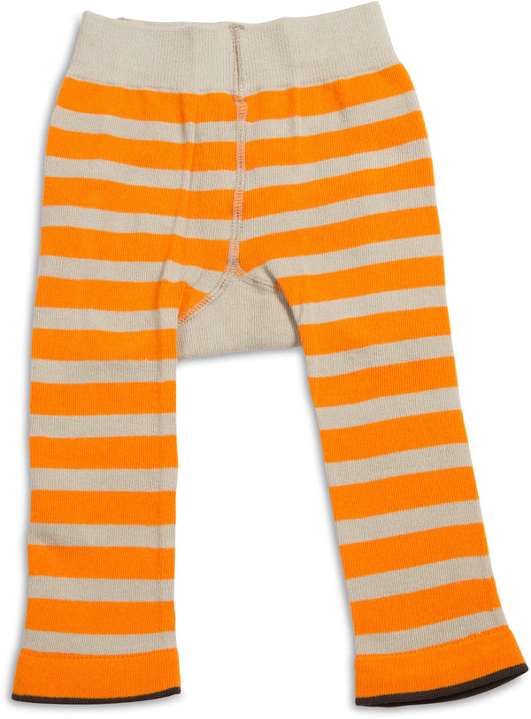 Orange and Tan Pug Baby Leggings Baby Leggings Izzy & Owie - GigglesGear.com
