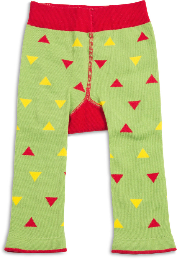 Green and Red Taco Baby Leggings Leggings Izzy & Owie - GigglesGear.com