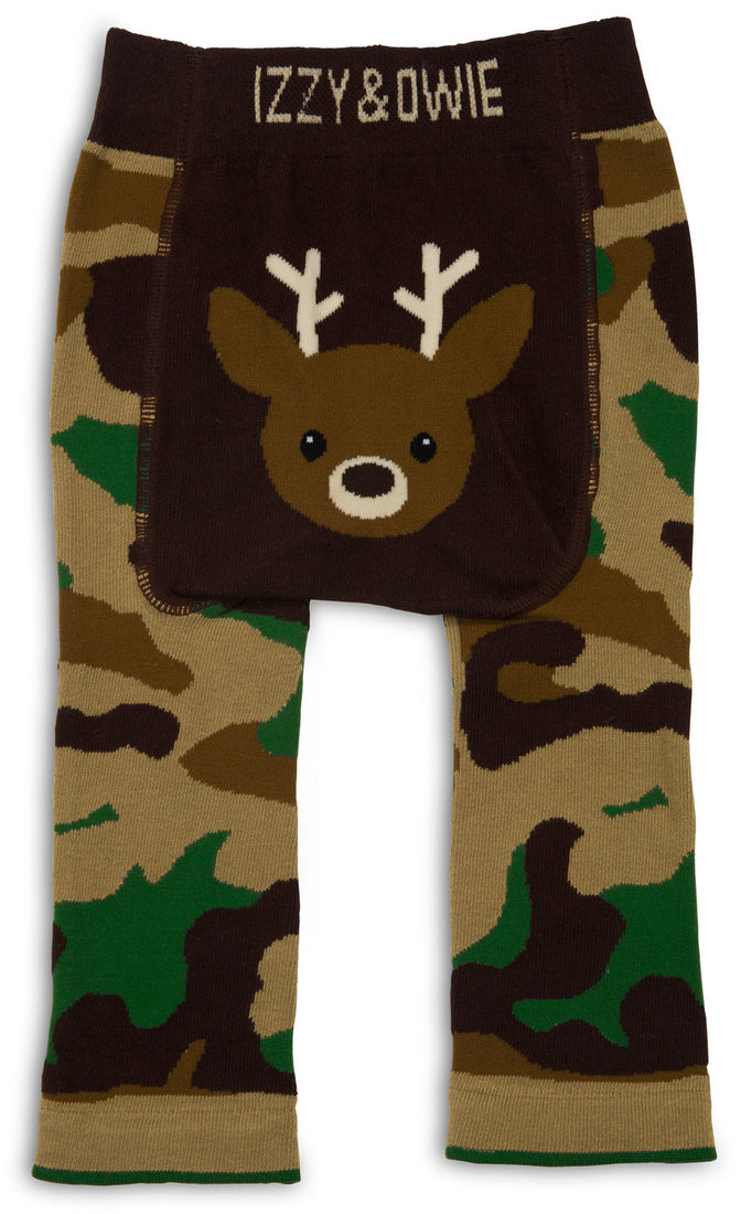 Camouflage Deer Baby Leggings