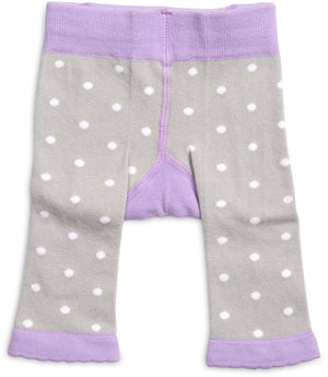 Soft Lavender Kitty Baby Leggings 0-6M Leggings Izzy & Owie - GigglesGear.com