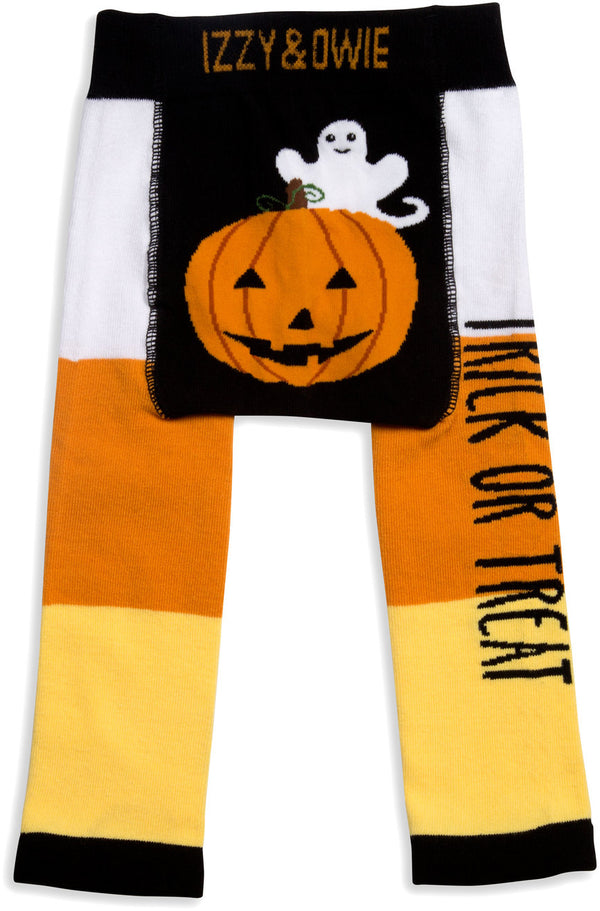 Trick or Treat Baby Leggings Baby Leggings Izzy & Owie - GigglesGear.com