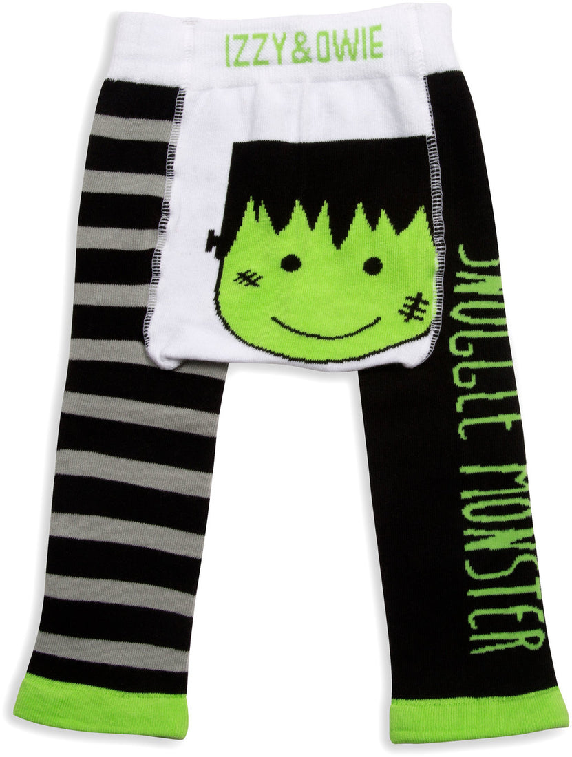 Snuggle Monster Halloween Baby Leggings 6-12M