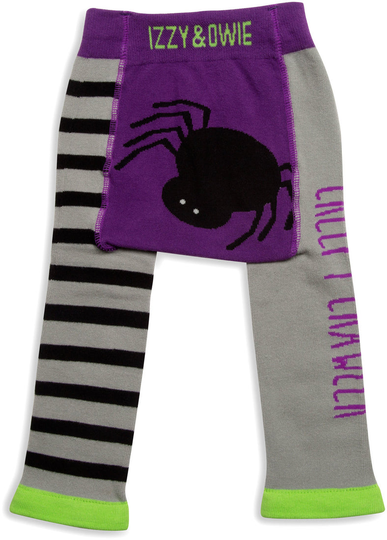 Creepy Crawler Halloween Baby Leggings 6-12M