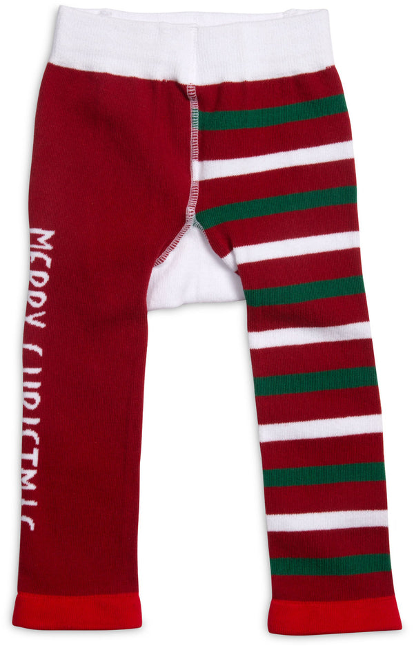 Merry Christmas Baby Leggings 6-12M Leggings Izzy & Owie - GigglesGear.com