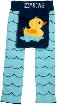 Rubber Ducky Baby Leggings