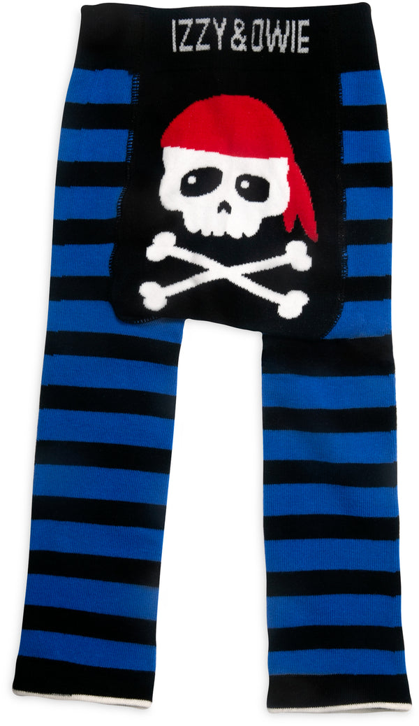 Happy Pirate Baby Leggings Baby Leggings Izzy & Owie - GigglesGear.com