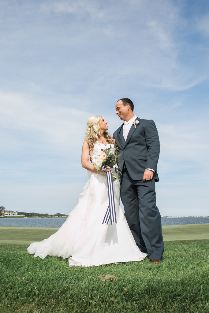 C + T Wedding at the Rehoboth Beach Country Club