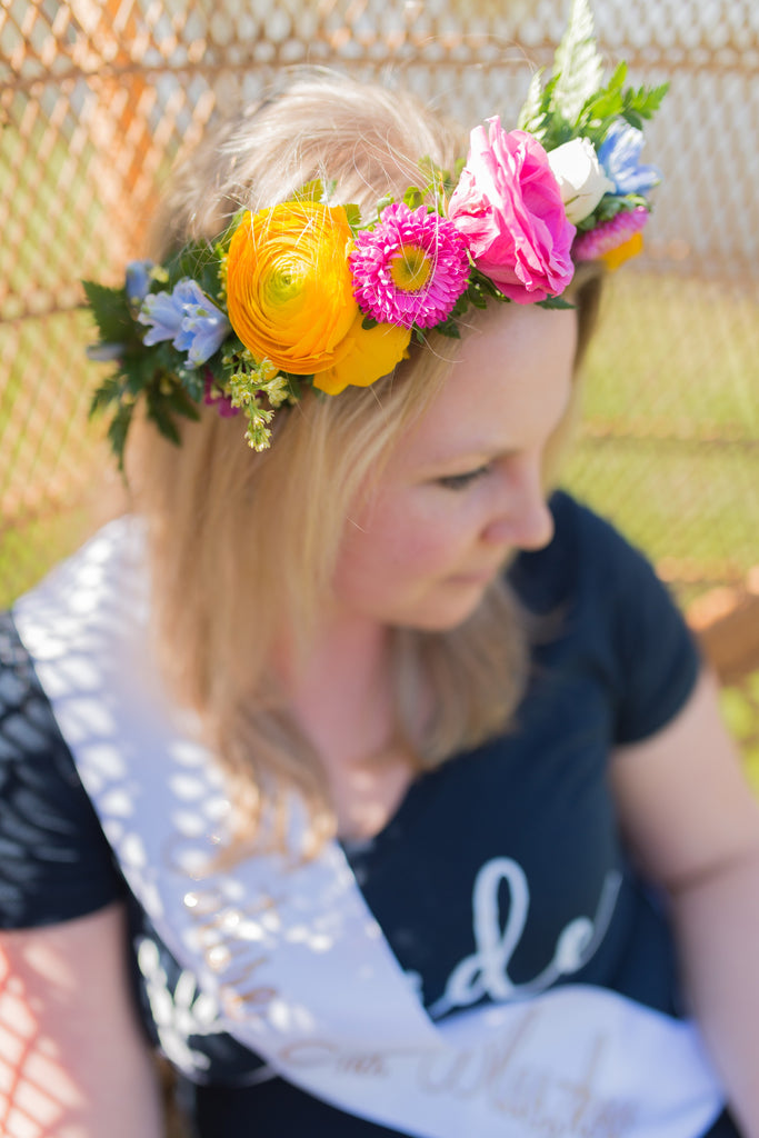 Flower Crown Bachelorette Party at LML