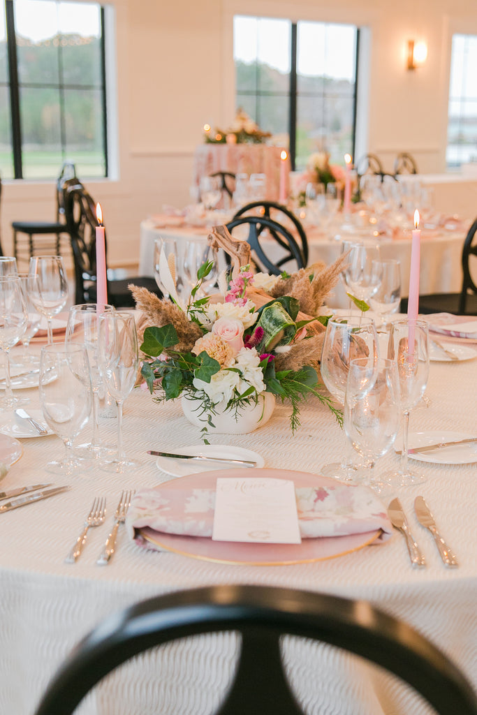 Blush Pink & Ivory Inspiration // Signatures at Bayside, Selbyville, DE