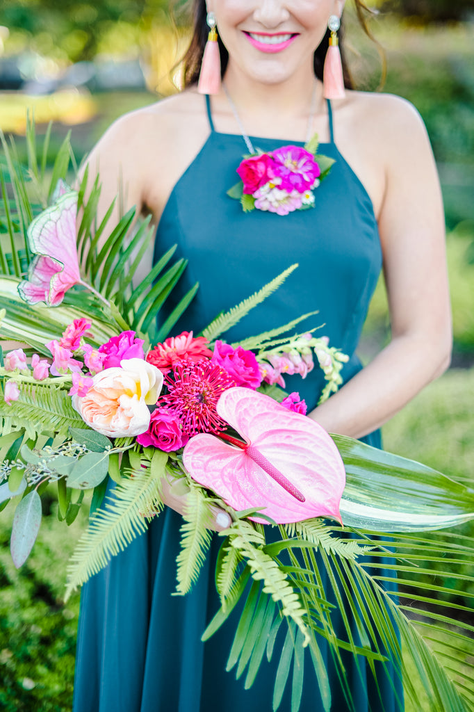 Tropical Bridesmaid Brunch Inspiration