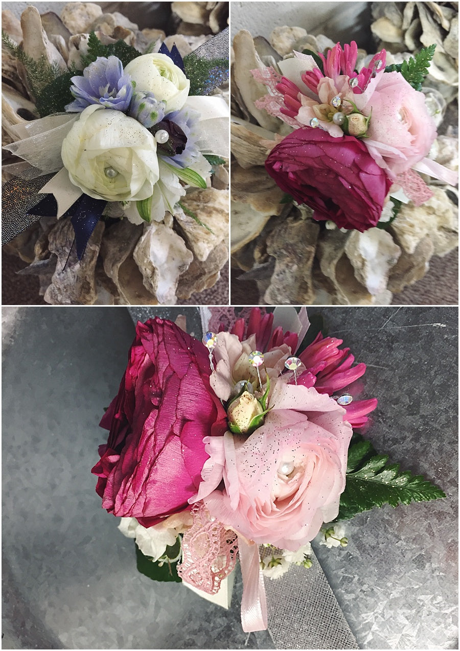 little miss lovely floral design // prom flowers ocean city maryland