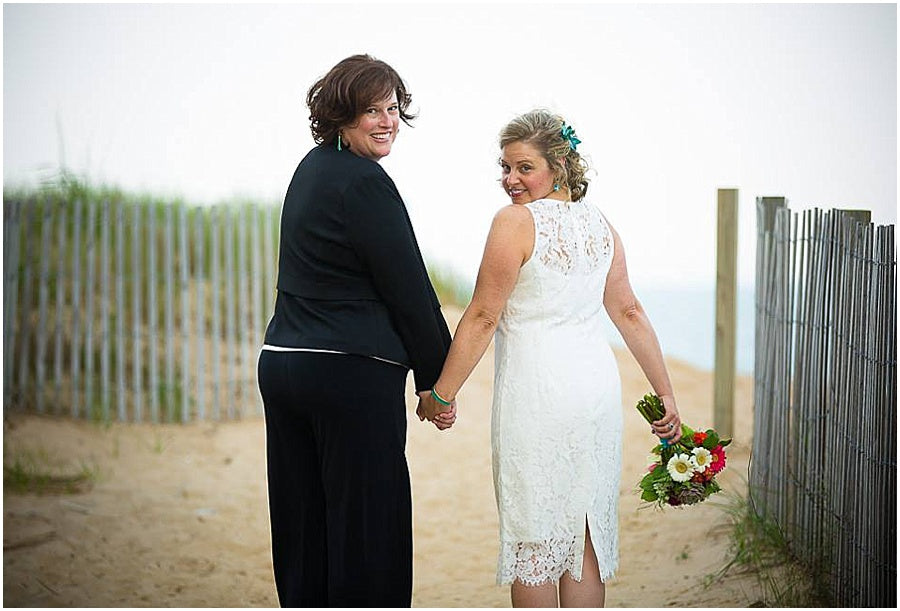 Doug Phillips Photography // Little Miss Lovely Floral Design // Ocean City Maryland Wedding Florist