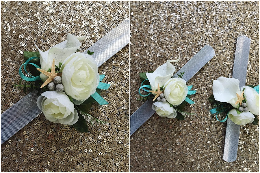 little miss lovely floral design // disney castaway cay cruise wedding flowers