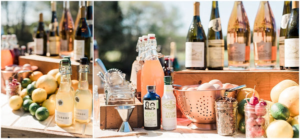 leah adkins photography // liquid assetts catering // charcuterie table at wedding
