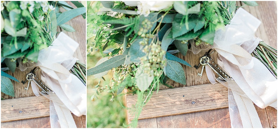 leah adkins photography // little miss lovely floral design // earl grey rose bridal bouquet
