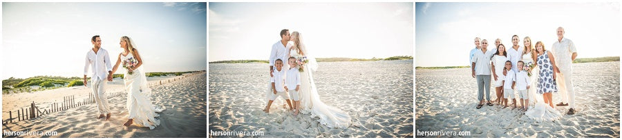 little miss lovely floral design // bridal bouquet // assateague island wedding // herson rivera photography