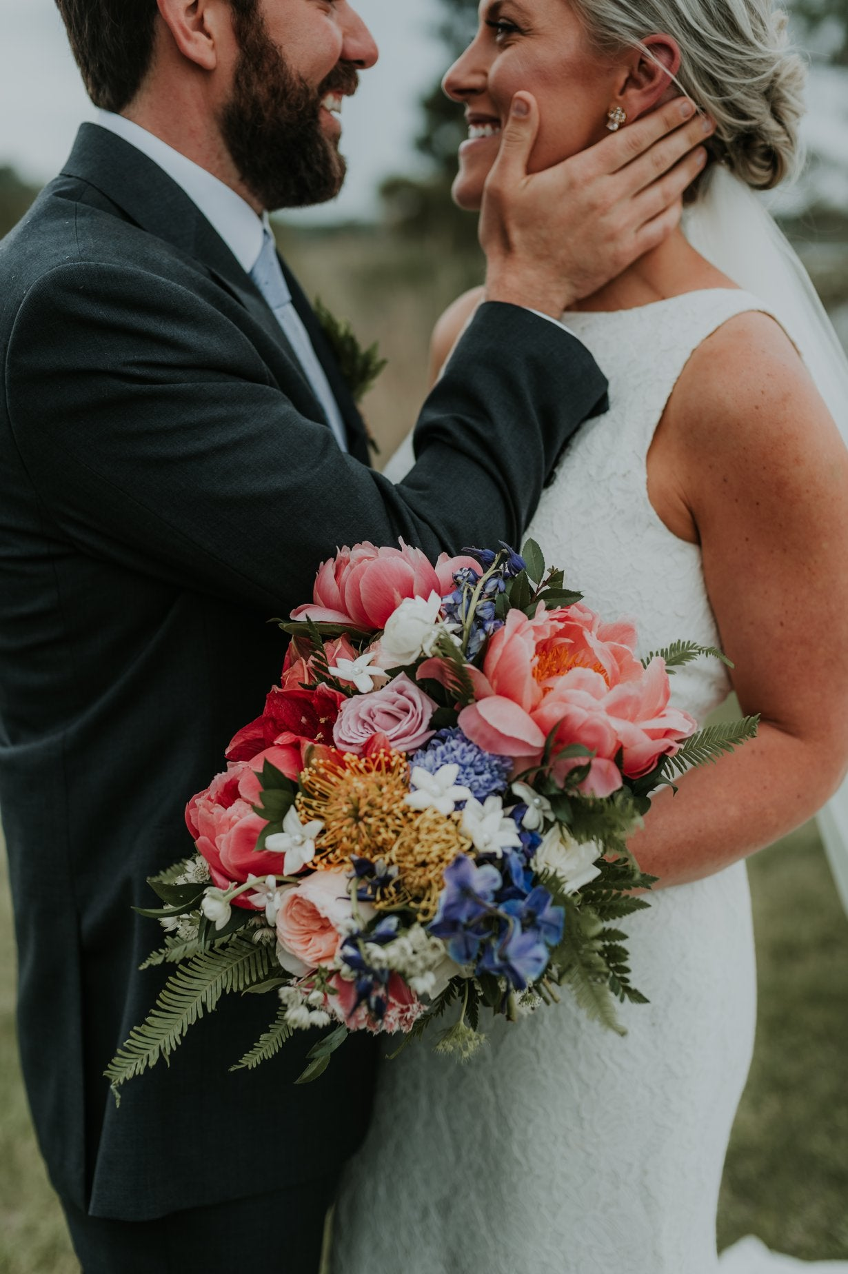 little miss lovely floral design // leah adkins photography // bayside golf resort wedding selbyville, de // ocean city maryland wedding florist
