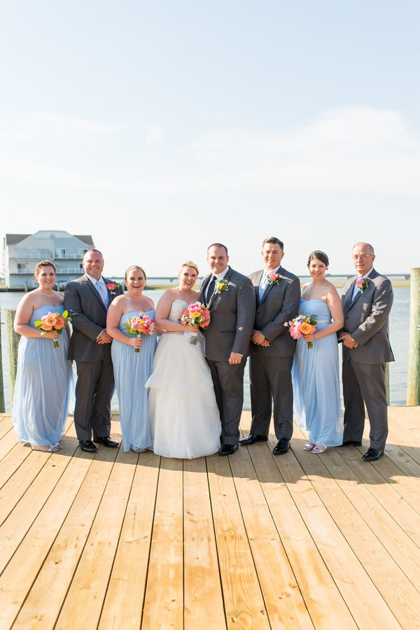 Allie Beckley Photography // Little Miss Lovely Floral Design // Captains Cove VA Wedding